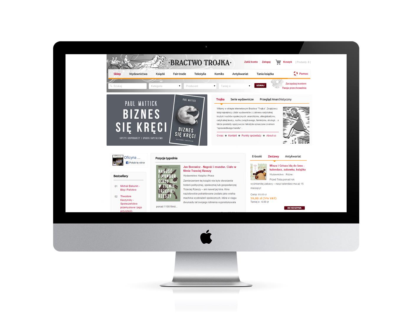 Ksi Garnia Internetowa Bractwa Trojka Trojka Design Pozna